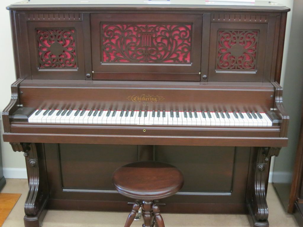 Antique Chickering Upright