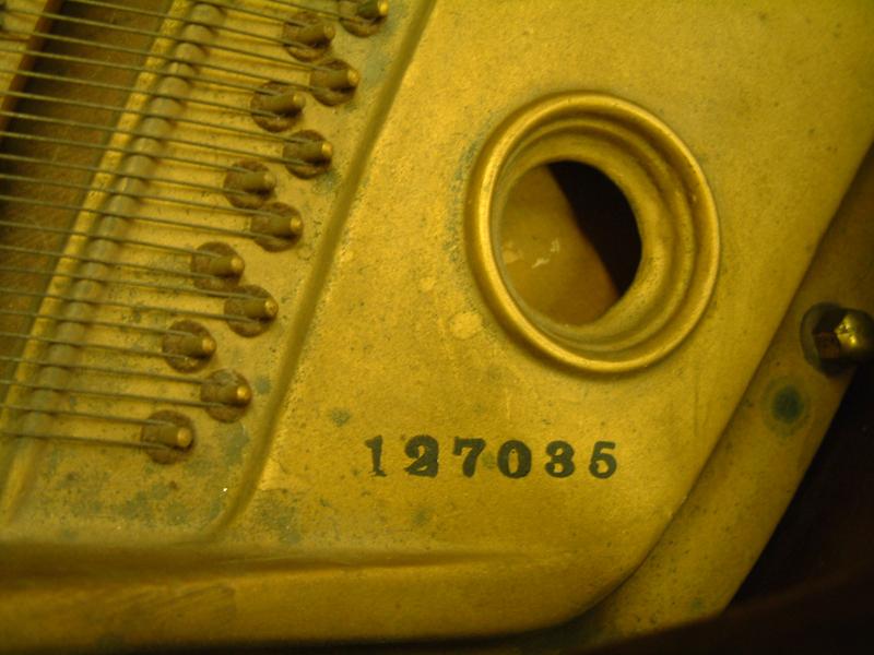 Piano serial numbers - Piano Emporium