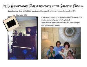 Yesteryear Piano Restoration
