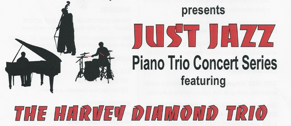 Piano Emporium Presents Just Jazz - Piano Trio Concert Series