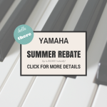 Yamaha Summer Rebate