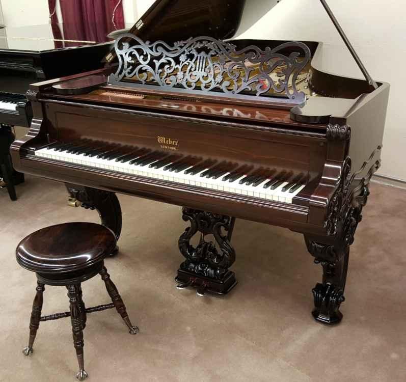 1874 Weber Victorian Grand Piano