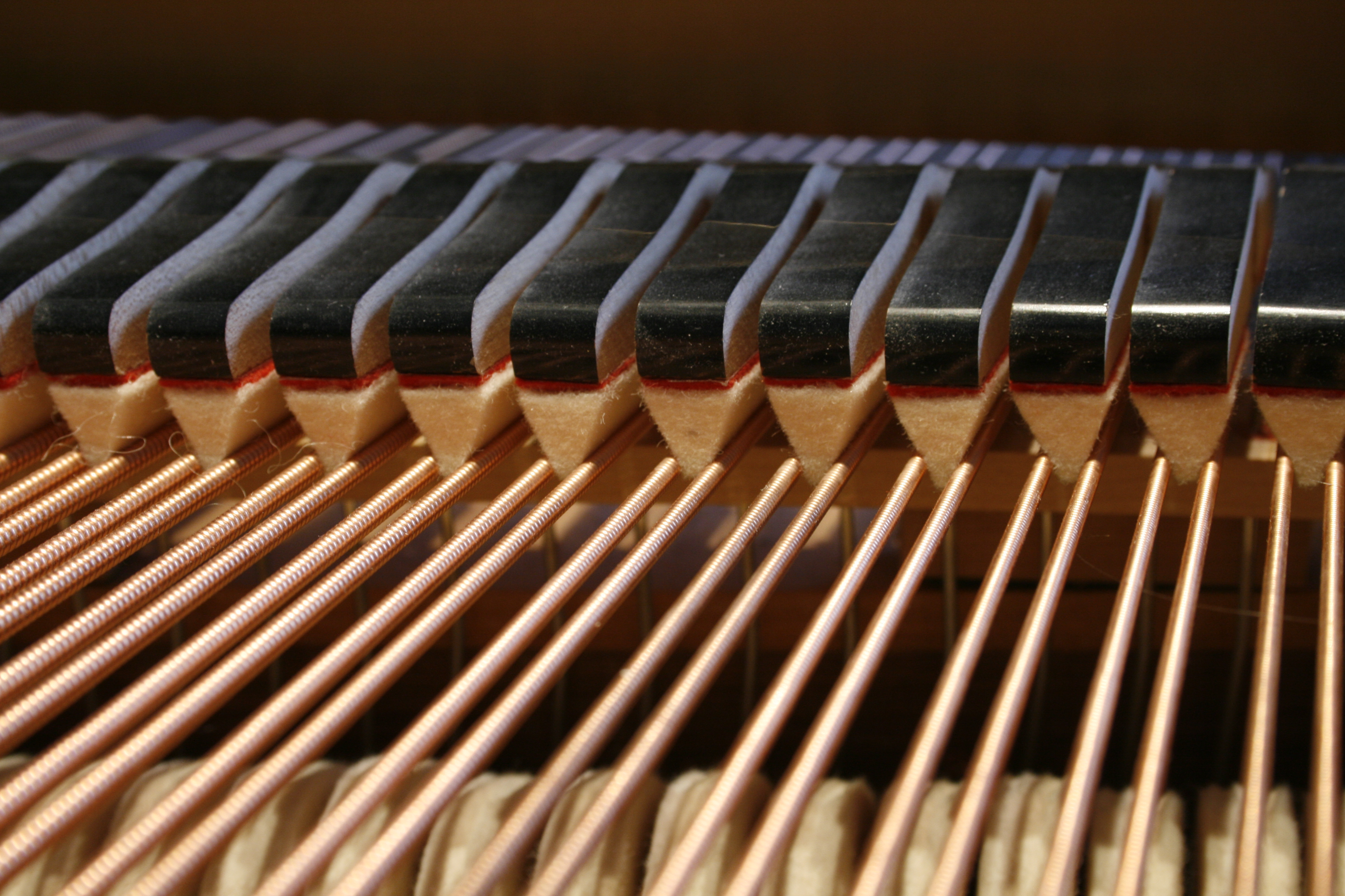 Piano voicing hammers