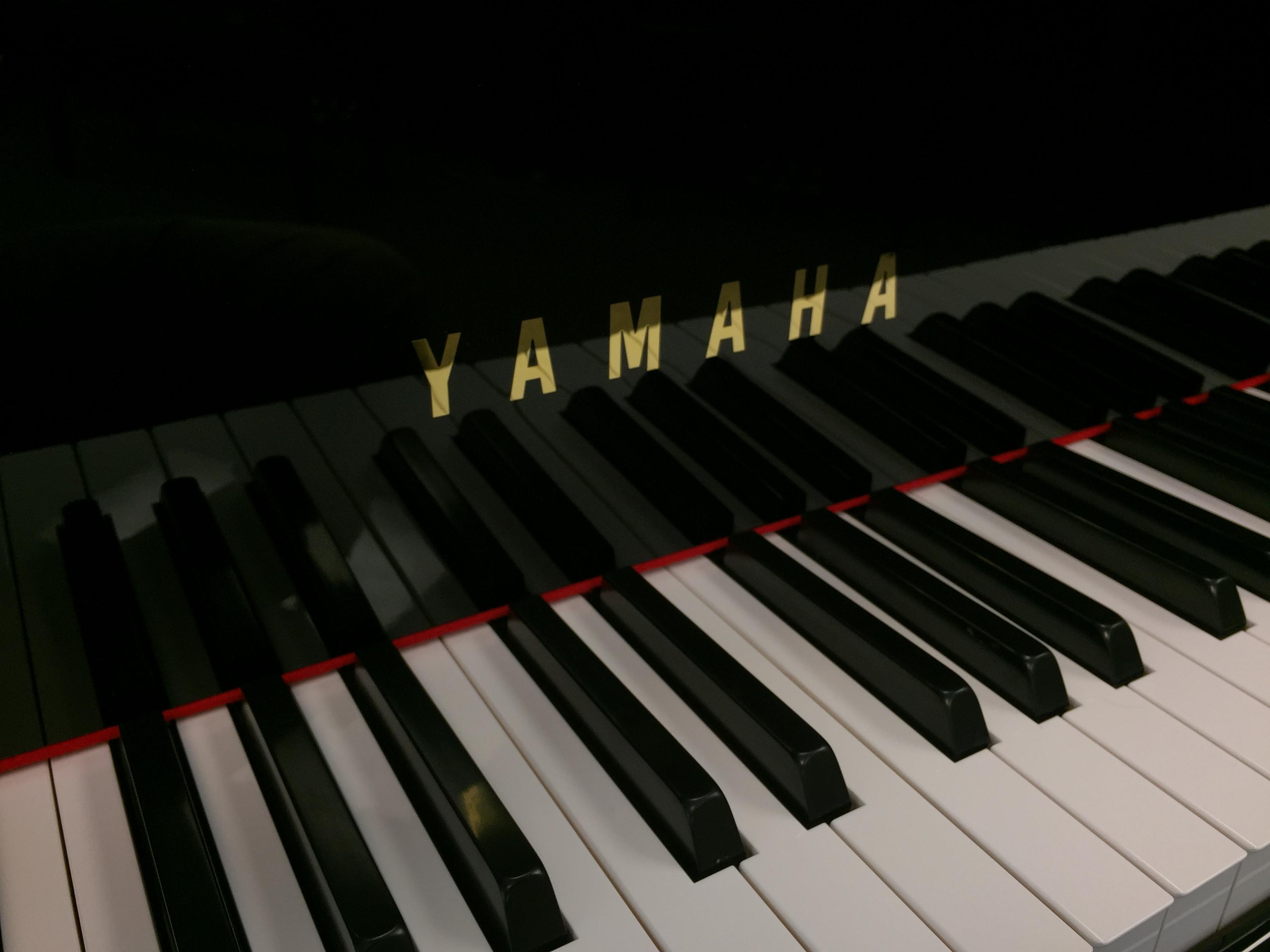 Yamaha Piano Front
