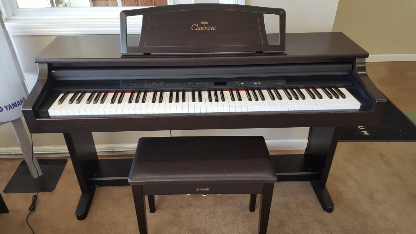 yamaha clp clavinova digital pianos for sale autos post. Black Bedroom Furniture Sets. Home Design Ideas