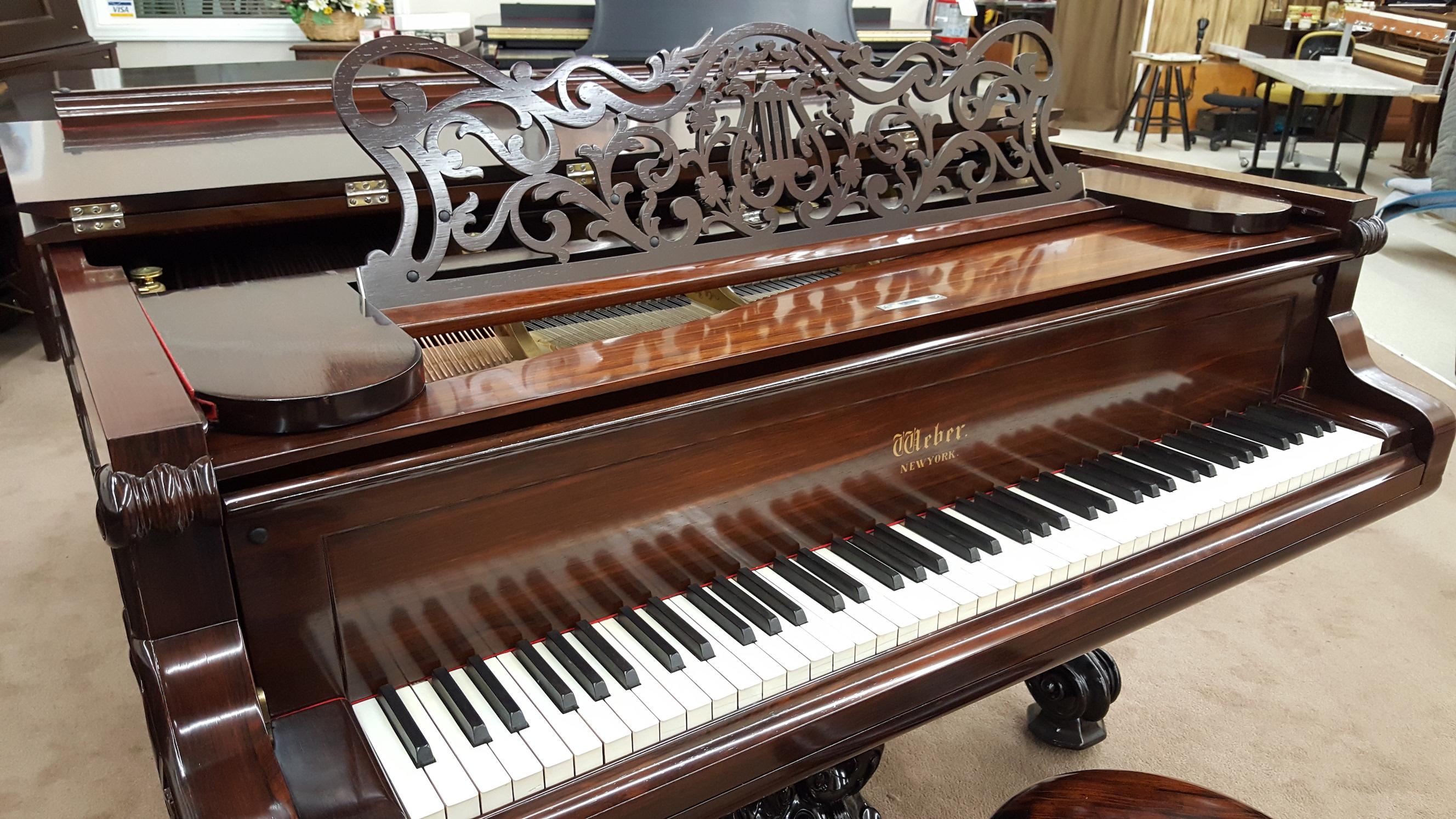Weber Victorian Grand Keyboard