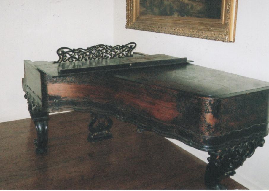 Victorian Weber Grand Before Restoration