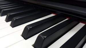 Synthetic Ebony and Ivory Keytops