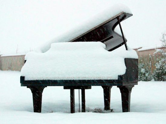 Piano Maintenance and Care winter