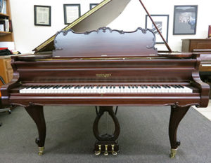 Kranich and Bach piano after restoration