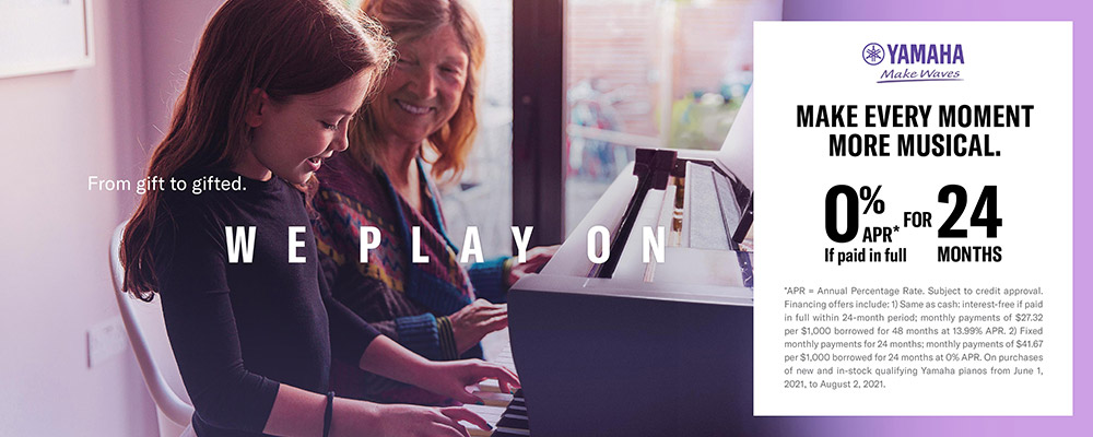 Play on. Make every moment more musical.
